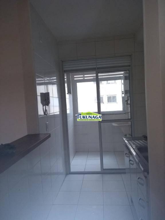 Apartamento com 3 dormitórios para alugar, 54 m²  - Ponte Grande - Guarulhos/SP