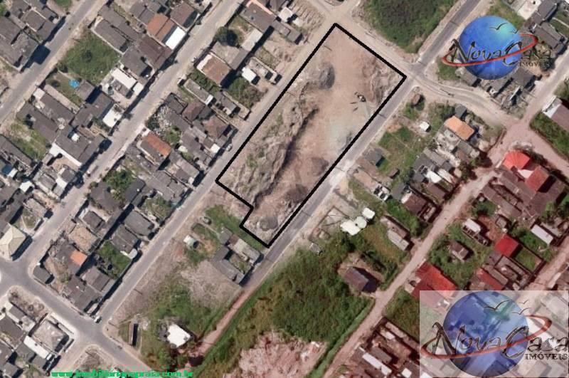 Área para galpão industrial à venda, Jardim Trevo, Praia Grande.