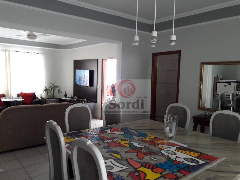 Casa com 3 dormitórios à venda, 174 m² por R$ 595.000 - Parque Industrial Lagoinha - Ribeirão Preto/SP