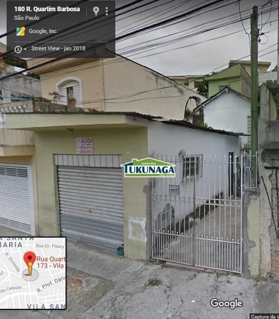 Casa residencial + Salão comercial à venda, Vila Santa Maria, São Paulo.