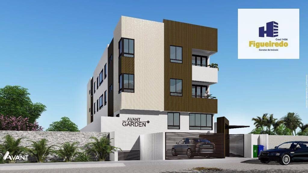 Apartamento com 3 dormitórios à venda, 71 m² por R$ 265.000 - Tambauzinho - João Pessoa/PB