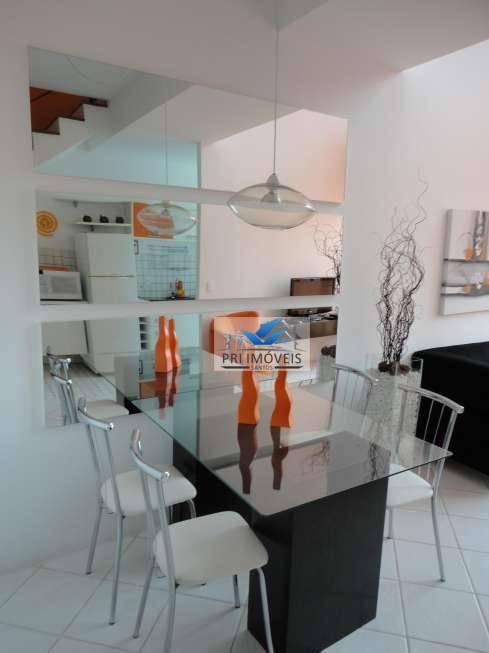 Loft à venda, 110 m² por R$ 495.000,00 - Gonzaga - Santos/SP