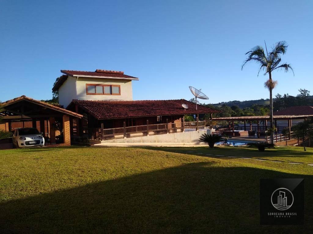 Chácara com 5 dormitórios à venda, 3000 m² por R$ 1.700.000 - Perímetro Urbano - Sarapuí/SP
