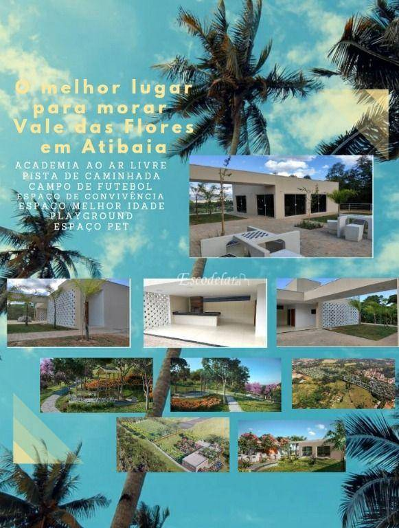 Terreno à venda, 347 m² por R$ 245.000,00 - Atibaia - Atibaia/SP