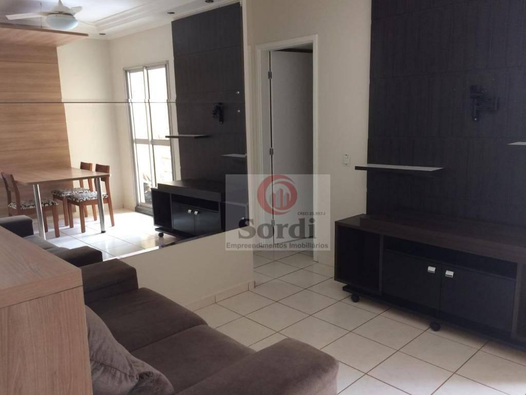Apartamento com 2 dormitórios à venda, 54 m² por R$ 220.000 - Ipiranga - Ribeirão Preto/SP