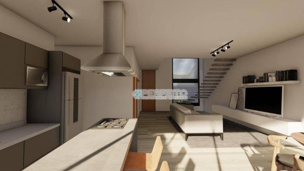 Sobrado com 3 dormitórios à venda, 177 m² por R$ 950.000,00 - Condomínio Bella Vittà - Londrina/PR