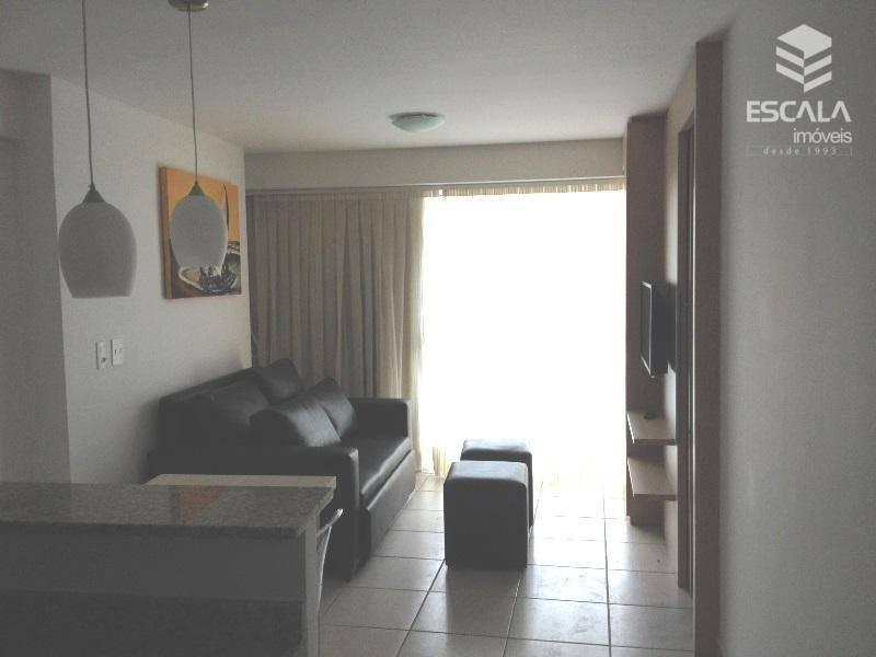 Apartamento para alugar, 2 quartos, Mobiliado, Com Internet / TV a Cabo