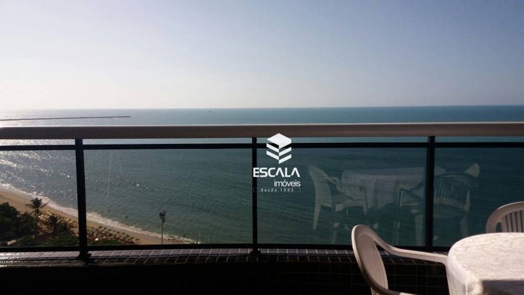 Apartamento com 2 quartos à venda, Landscape Beira Mar, vista mar, 2 vagas - Meireles - Fortaleza/CE