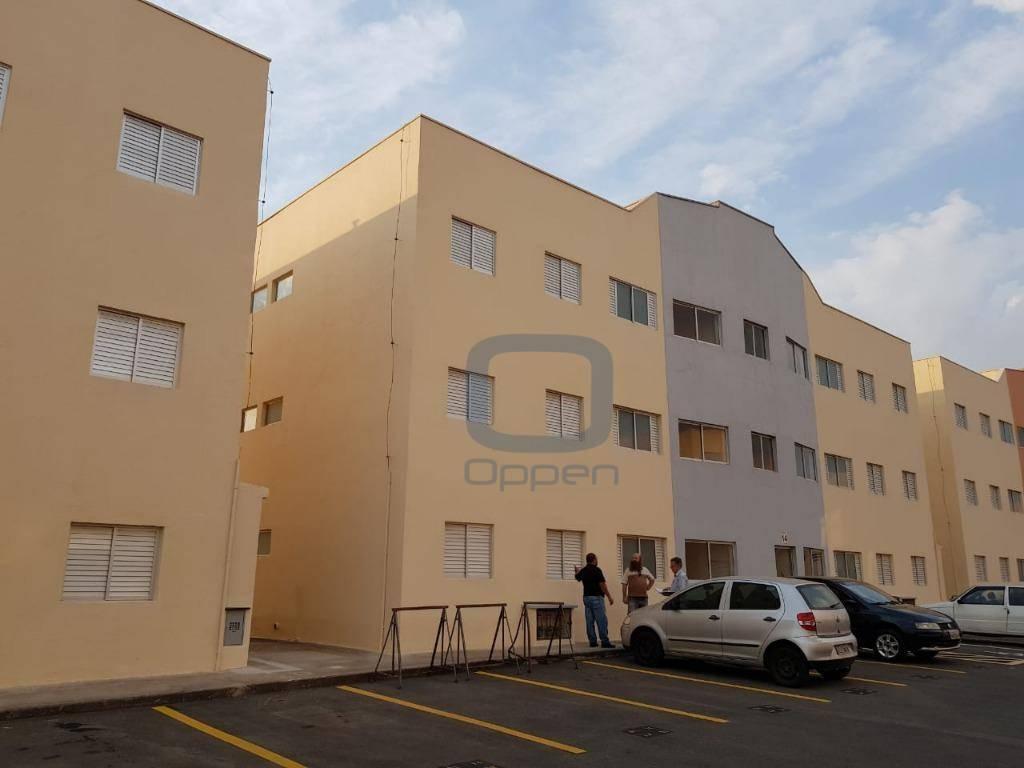 Apartamento com 2 dormitórios à venda, 62 m² por R$ 190.000 - Jardim Santa Esmeralda - Hortolândia/SP