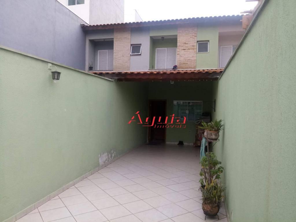 Sobrado com 2 dormitórios à venda, 120 m² por R$ 380.000 - Jardim Santo Alberto - Santo André/SP