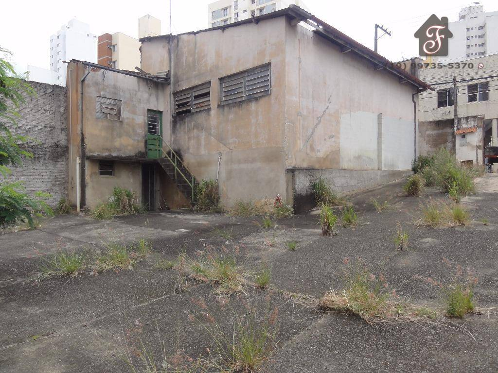 Galpão comercial à venda, Centro, Campinas.