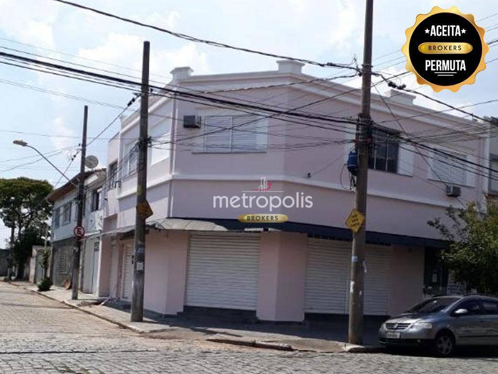 Prédio à venda, 215 m² por R$ 1.047.000,00 - Utinga - Santo André/SP