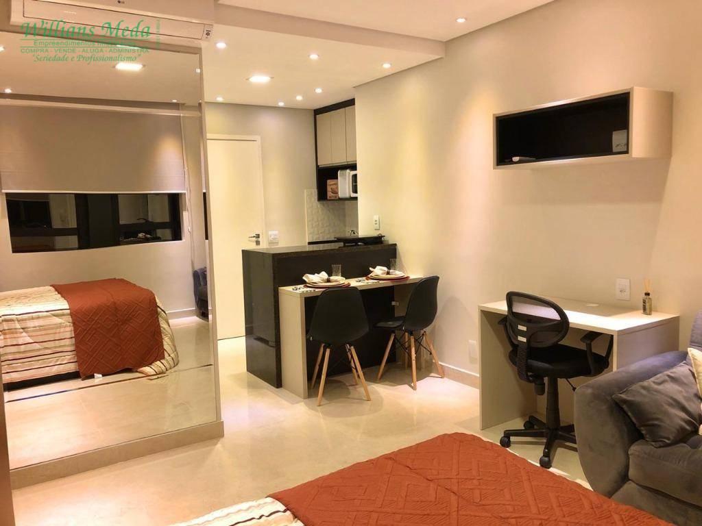 Studio com 1 dormitório para alugar, 26 m² por R$ 1.830/mês - Bethaville I - Barueri/SP