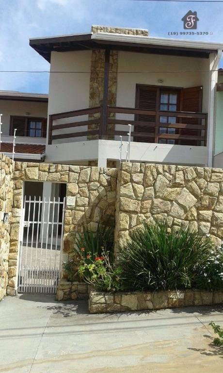 Sobrado residencial à venda, Jardim Paiquerê, Valinhos.