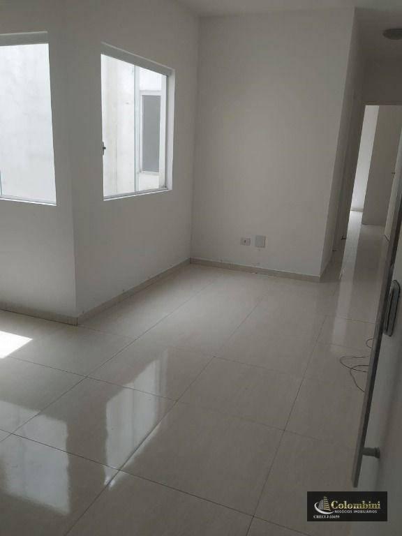 Cobertura com 2 dormitórios para alugar, 60 m² - Vila Alpina - Santo André/SP