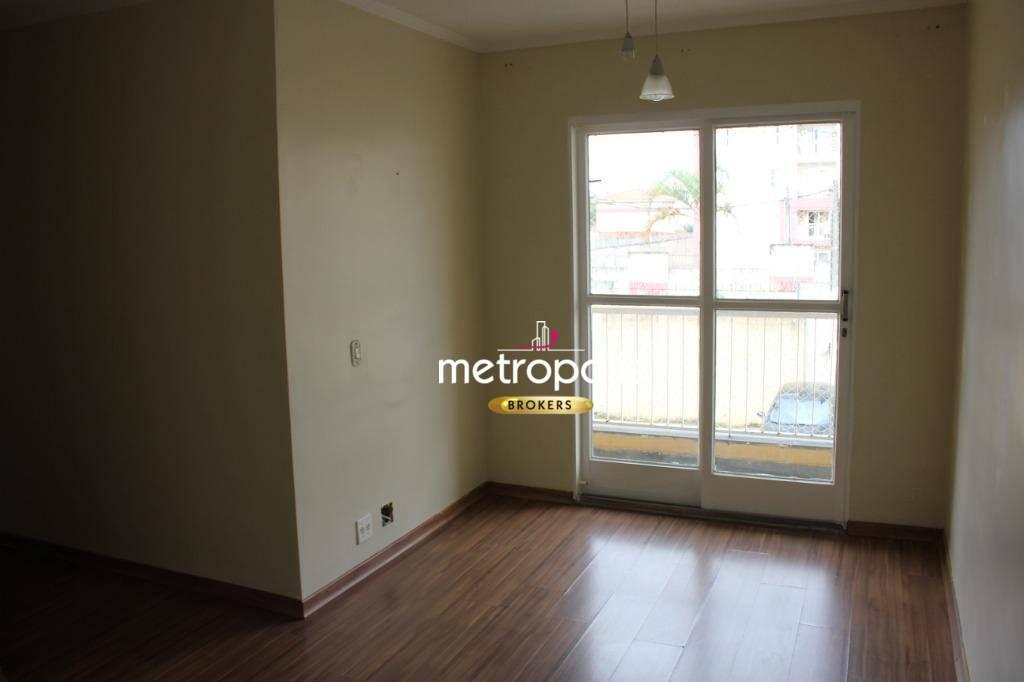 Apartamento com 3 dormitórios para alugar, 64 m² por R$ 1.300/mês - Vila Metalúrgica - Santo André/SP