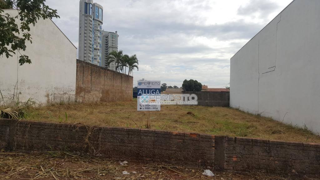 Terreno para alugar no Bela Suiça em Londrina, 500 m² por R$ 1.500/mês