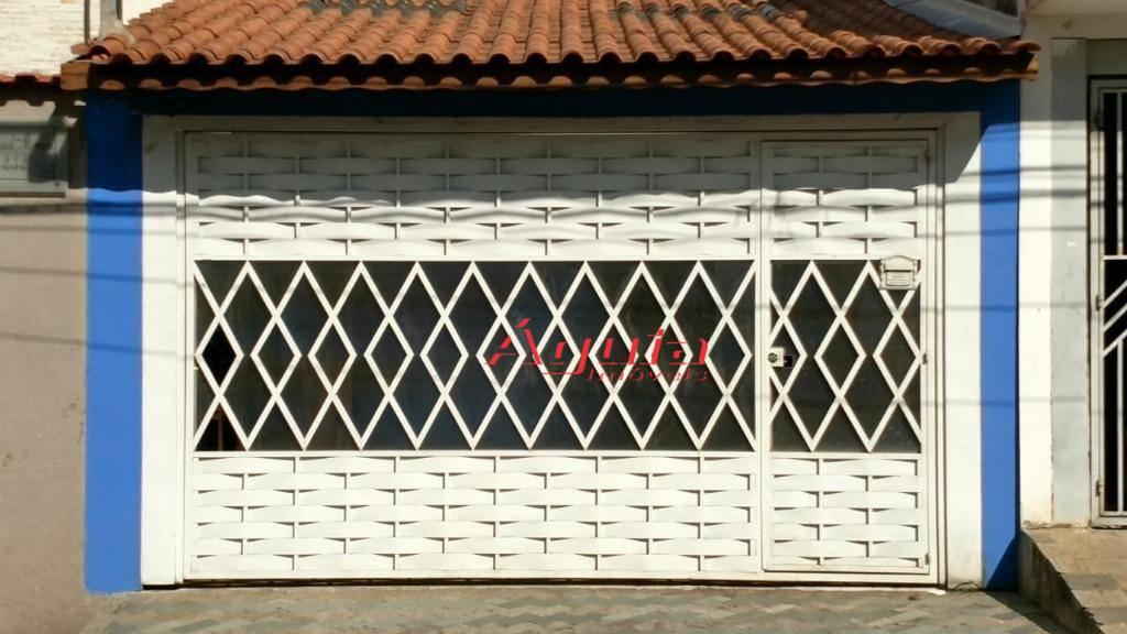 Casa à venda, 83 m² por R$ 400.000,00 - Vila Camilópolis - Santo André/SP