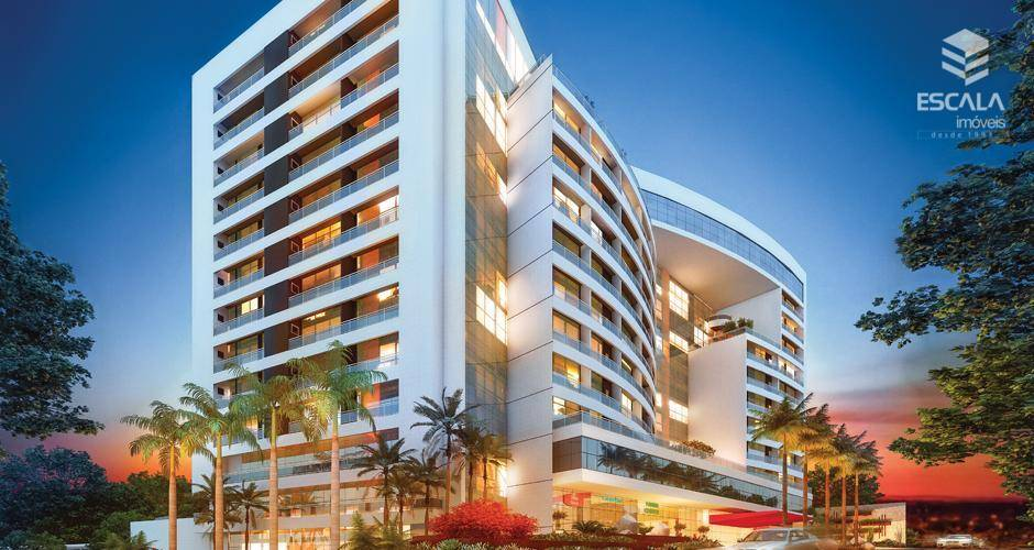 Sala comercial à venda no Dionísio Torres, 63,99m2, aceita financiamento. Entrega em julho/2019.