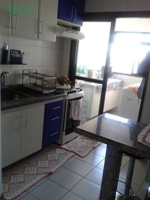 Apartamento com 3 dormitórios à venda, 64 m² por R$ 330.000 - Gopoúva - Guarulhos/SP
