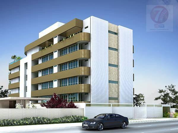 Apartamento residencial à venda, Bessa, João Pessoa - AP0363