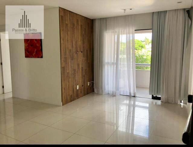 Apartamento com 3 dormitórios para alugar, 105 m² por R$ 2.500/mês - Pituba - Salvador/BA