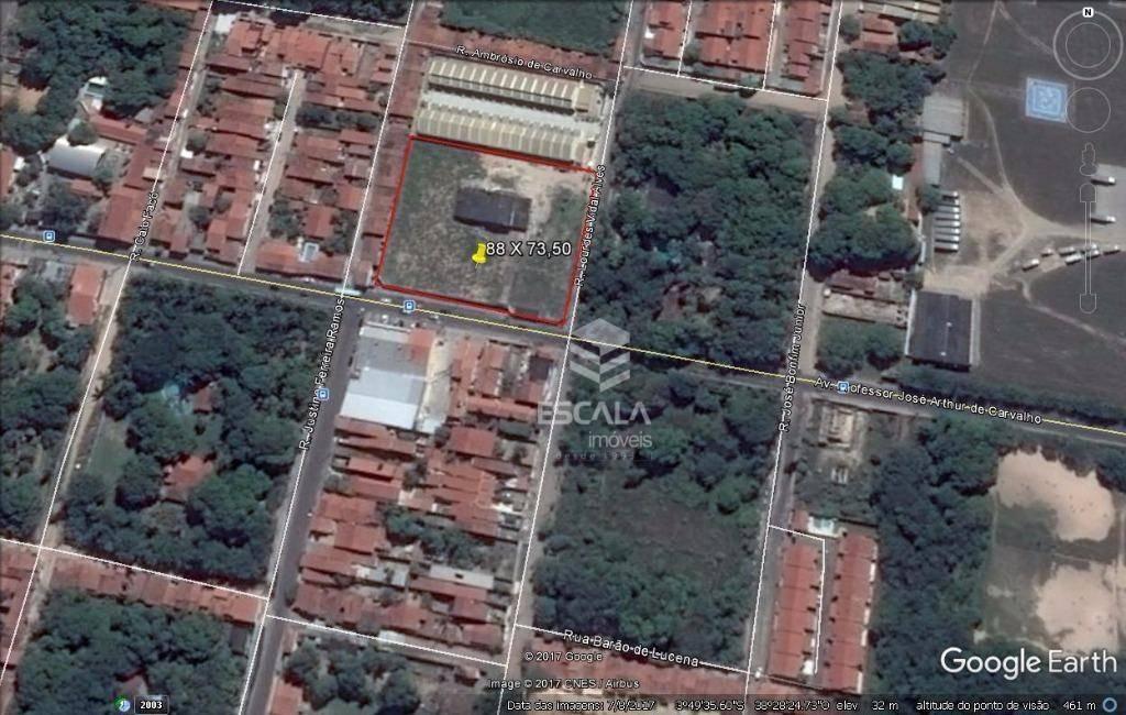 Terreno à venda, 6468 m² por R$ 6.468.000 - Lagoa Redonda - Fortaleza/CE