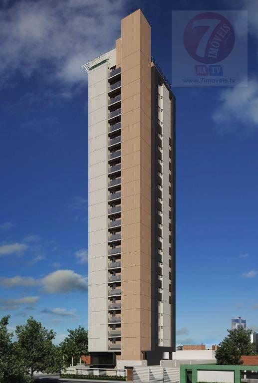 Apartamento residencial à venda, Manaíra, João Pessoa - AP03