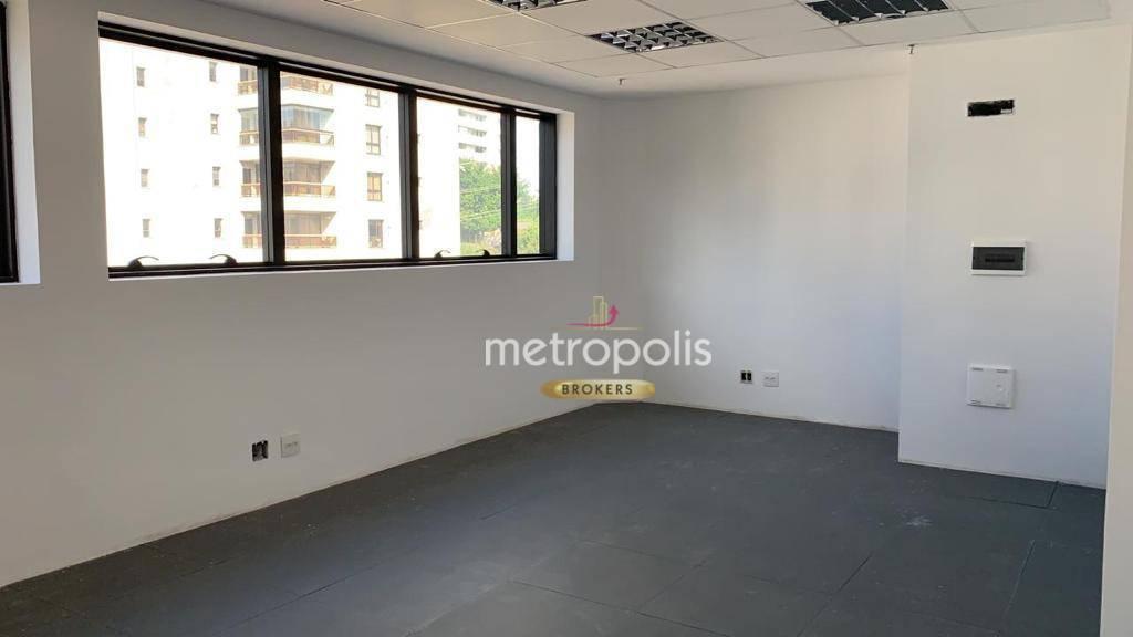 Sala, 32 m² - venda por R$ 265.000,00 ou aluguel por R$ 1.200,00/mês - Jardim - Santo André/SP