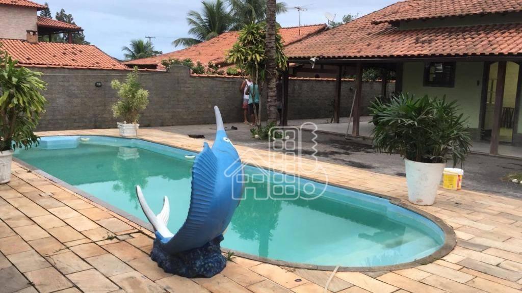Casa com 4 dormitórios à venda, 240 m² por R$ 600.000,00 - Barroco (Itaipuaçu) - Maricá/RJ