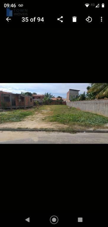Terreno à venda, 480 m² por R$ 140.000,00 - Centro - Maricá/RJ