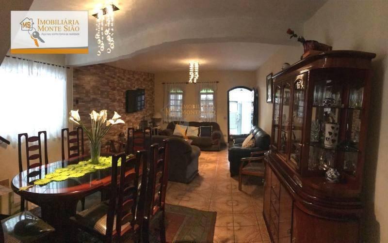 Sobrado com 3 dormitórios, 262 m² - Jardim Bela Vista - Guarulhos/SP