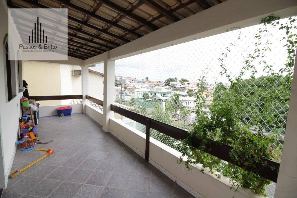 Casa com 5 dormitórios à venda, 236 m² por R$ 595.000 - Estrada Do Coco - Lauro de Freitas/BA