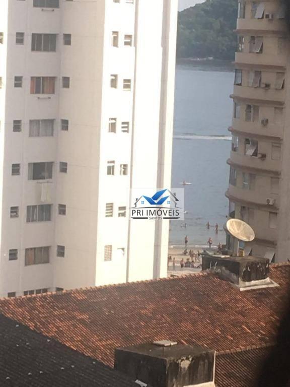 Apartamento com 2 dormitórios à venda, 80 m² por R$ 265.000 - Centro - São Vicente/SP