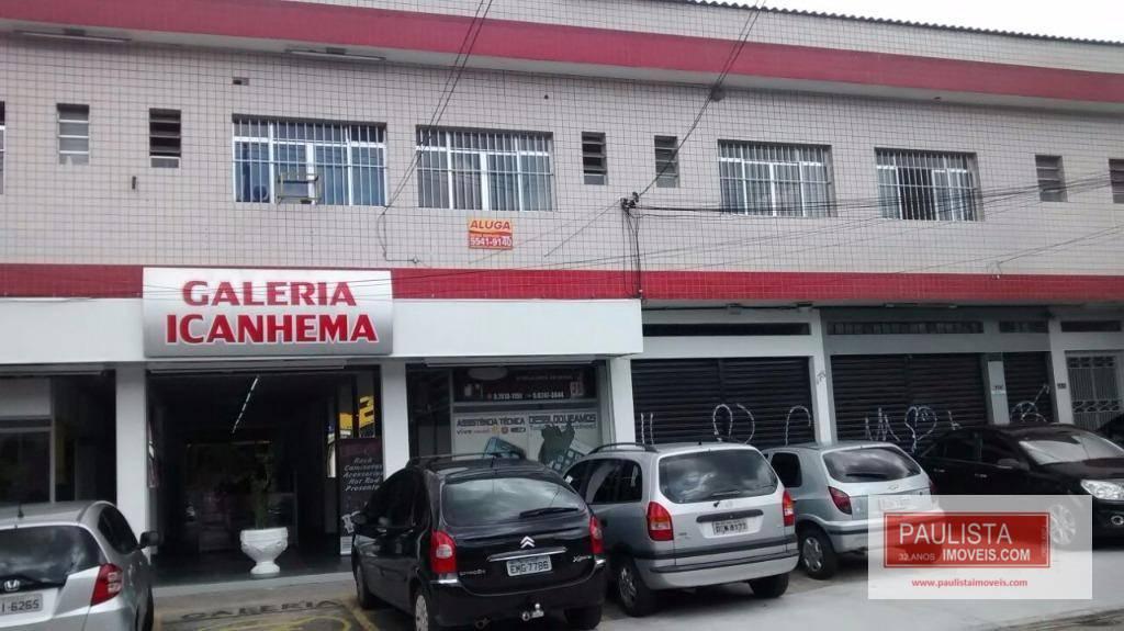 Sala comercial para locação, Cidade Dutra, São Paulo.