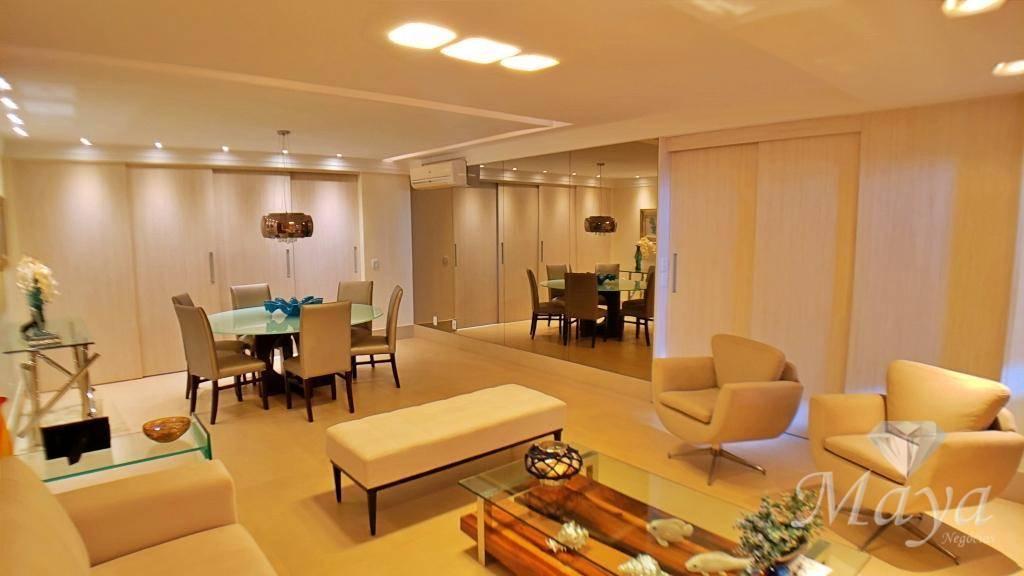 Apartamento 3 Suítes + Home, 184 m² c/ armários na 204 Sul - Montese