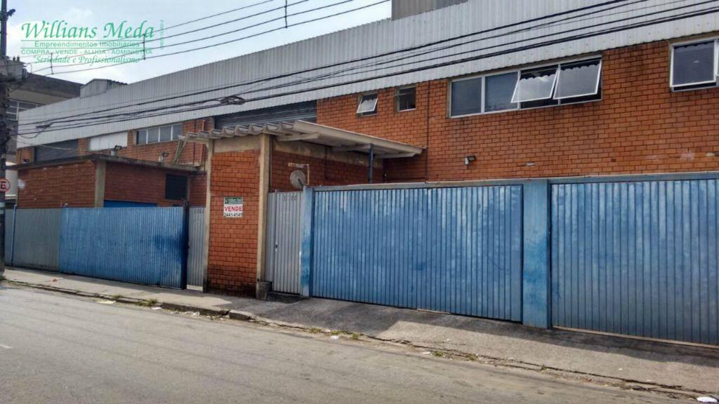 Galpão  comercial à venda, Vila Itapegica, Guarulhos.