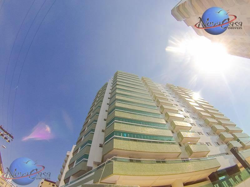 Apartamento 2 dormitórios, à venda, Vila Caiçara, Praia Grande.