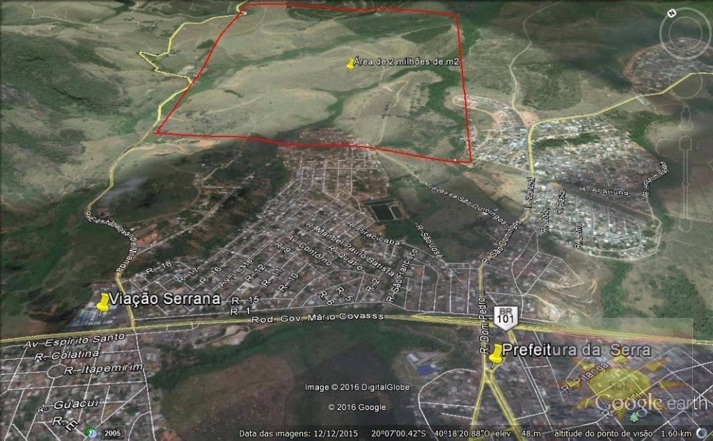 Área residencial à venda, Comunidades da Sede, Serra.