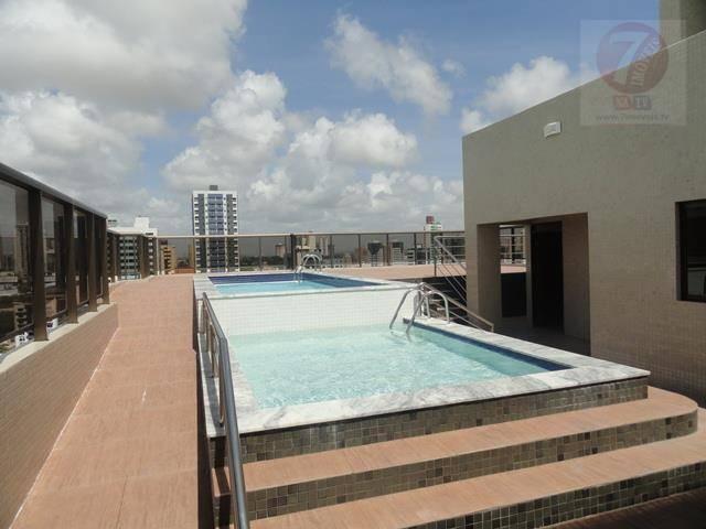 Apartamento residencial à venda, Tambaú, João Pessoa - AP019