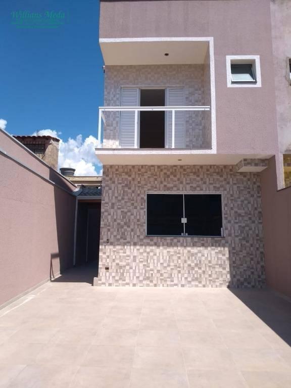 Sobrado com 3 dormitórios à venda, 156 m² por R$ 750.000