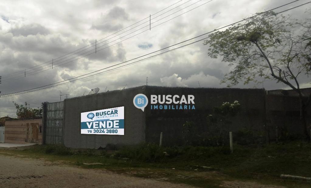 Galpão à venda, 585 m² por R$ 400.000,00 - Muchila - Feira de Santana/BA