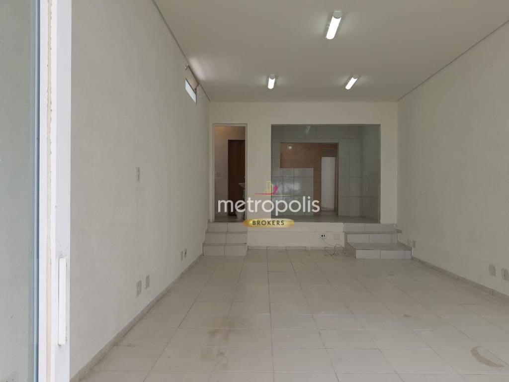 Salão, 92 m² - venda por R$ 840.000,00 ou aluguel por R$ 3.700,00/mês - Santo Antônio - São Caetano do Sul/SP