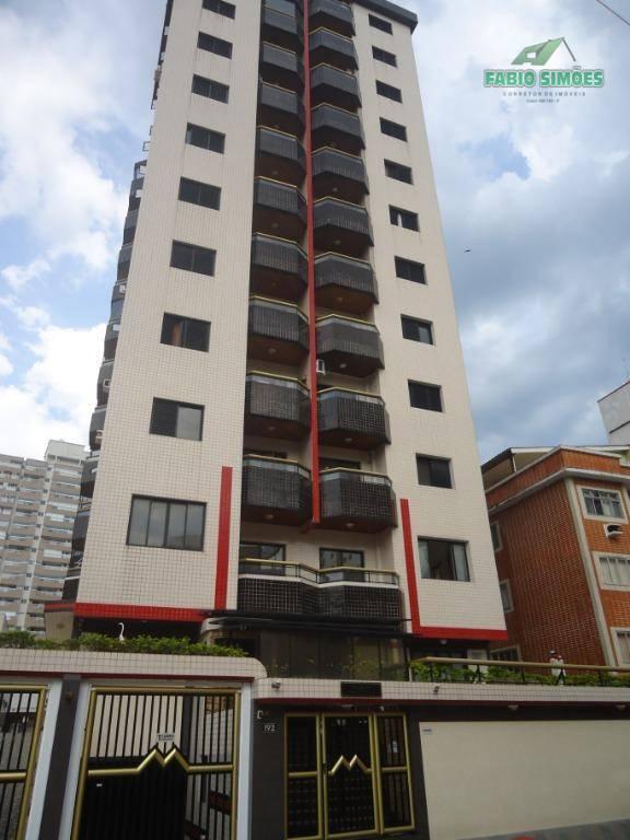 Apartamento com 1 dormitório à venda, 52 m² por R$ 170.000 - Campo da Aviação - Praia Grande/SP