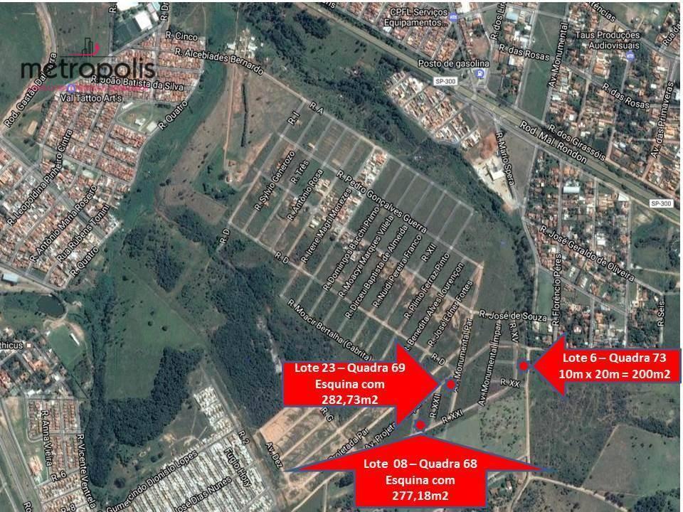 Terreno residencial à venda, Parque dos Pinheiros, Botucatu.