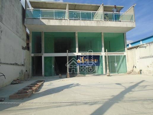 Loja para alugar, 180 m² por R$ 8.000,00/mês - São Francisco - Niterói/RJ