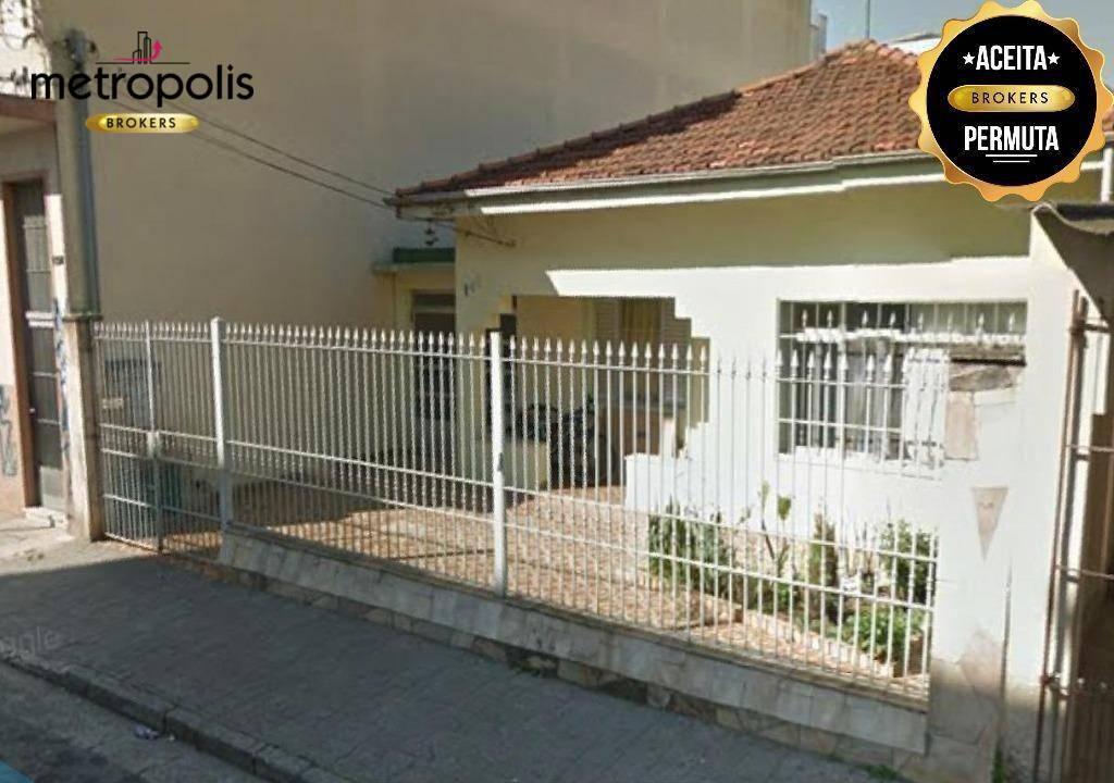 Casa com 3 dormitórios à venda por R$ 1.290.000 - Osvaldo Cruz - São Caetano do Sul/SP