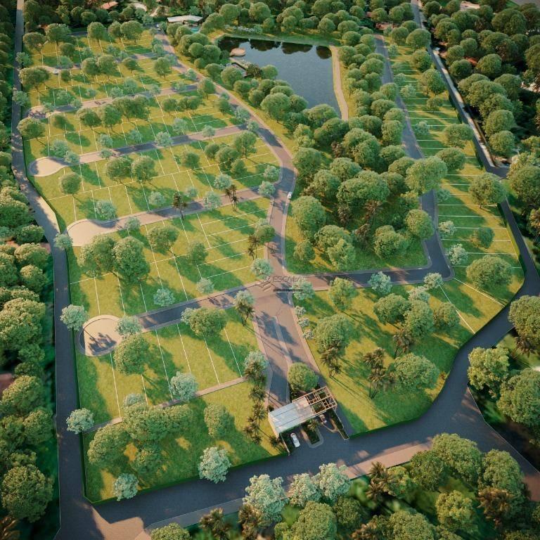 Lote à venda, 243 m², Botânico Terra Brasilis, lazer completo, financia - Divineia - Aquiraz/CE