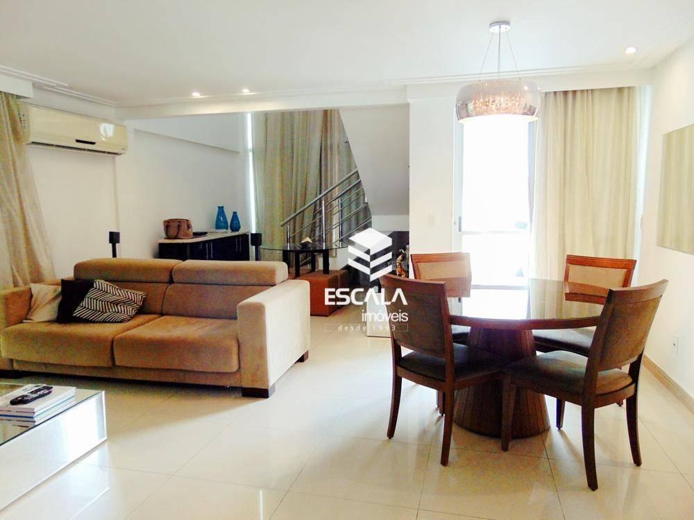 Casa duplex com 4 quartos à venda, 220 m², condomínio fechado - Sapiranga - Fortaleza/CE