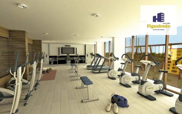 Apartamento com 4 dormitórios à venda, 170 m² por R$ 840.000 - Bessa - João Pessoa/PB